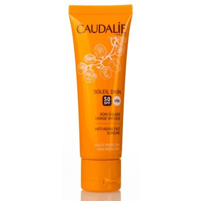 Caudalie Soleil Divin Anti-Ageing High Protection Face Suncare SPF50 40ml