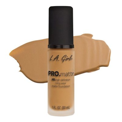 L.A. Girl Pro Matte Foundation Light Tan 30ml