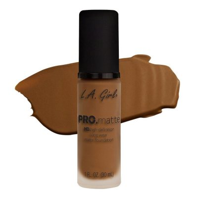 L.A. Girl Pro Matte Foundation Nutmeg 30ml