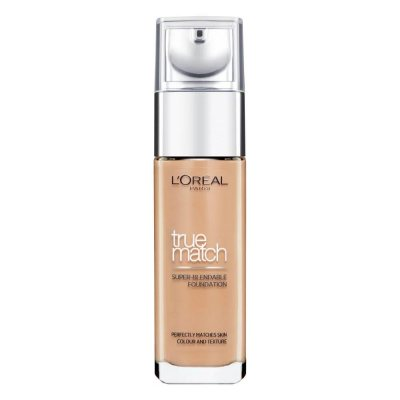 L'Oreal True Match Liquid Foundation 8W Golden Cappuccino 30ml