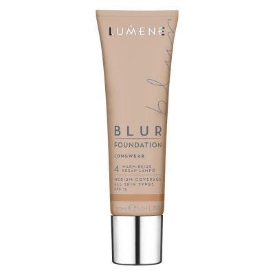Lumene Longwear Blur Foundation Warm Beige SPF15 30ml
