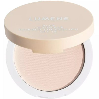Lumene Longwear Blur Powder Foundation 2 Soft Honey SPF15 10g