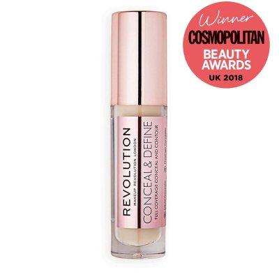 Makeup Revolution Conceal & Define Concealer C4