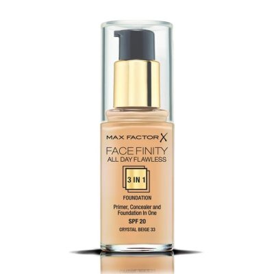 Max Factor Facefinity All Day Flawless 3 in 1 Foundation 33 Crystal Beige 30ml