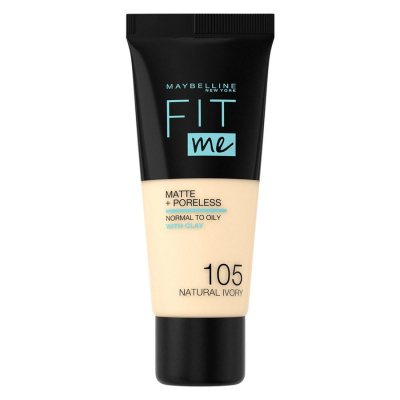 Maybelline Fit Me Matte + Poreless Foundation 105 Natural Ivory