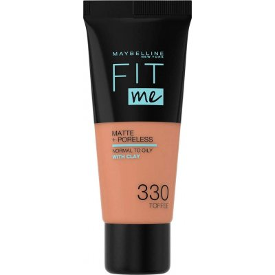 Maybelline Fit Me Matte + Poreless Foundation 330 Toffee
